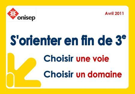 Avril 2011. Infos utilisateurs Le diaporama Se documenter.