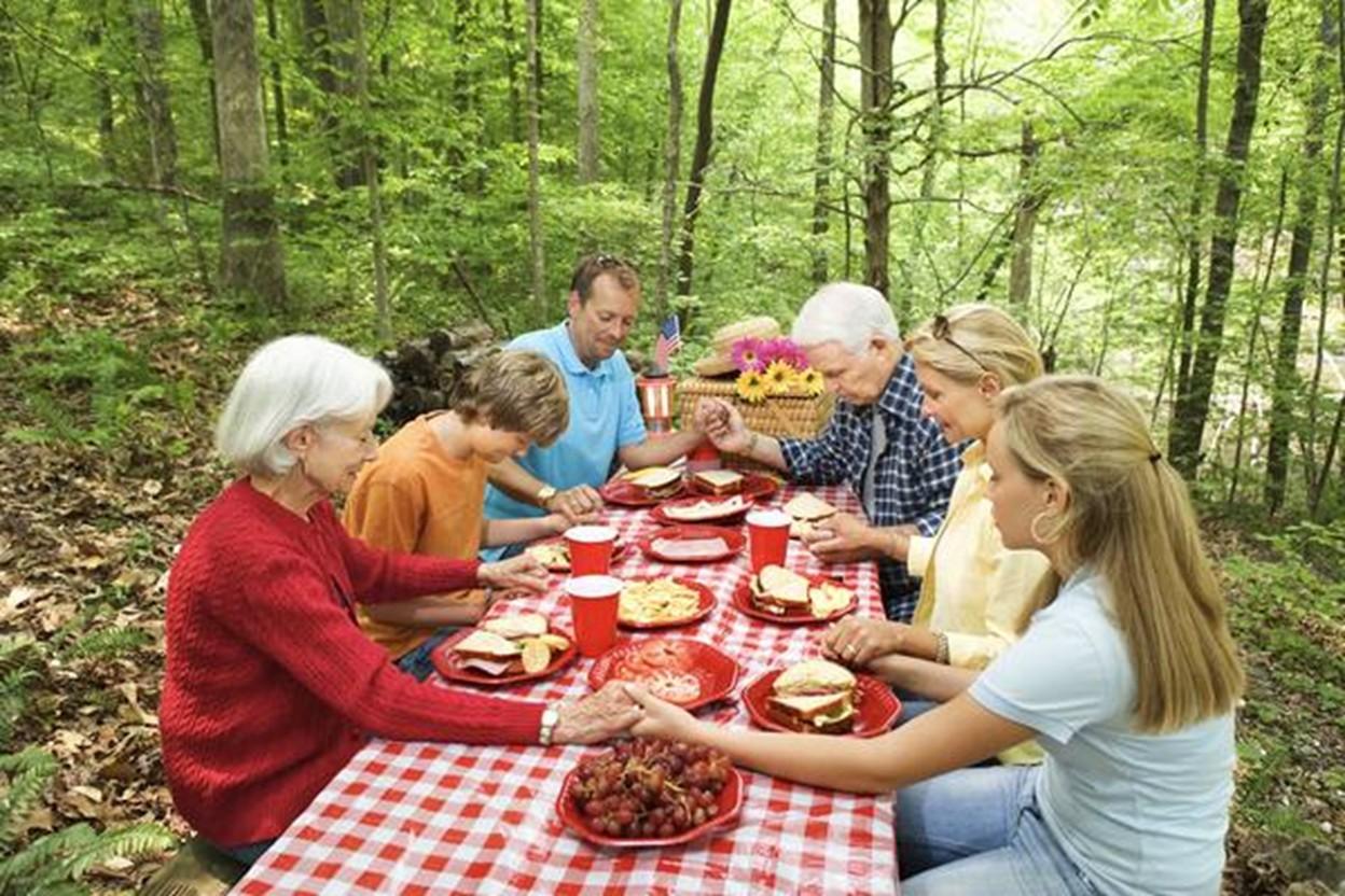 Prière avant les repas, le bénédicité