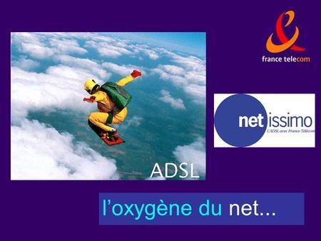 Loxygène du net.... Direction Régionale de Lyon / DSR2 Les accès hauts-débits Les réseaux câblés de vidéocommunication Le satellite La boucle locale cuivre.