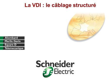 La VDI : le câblage structuré. Division - Name - Date - Language 2 Assurer souplesse, fiabilité, évolutions entre –des utilisateurs –des terminaux de.